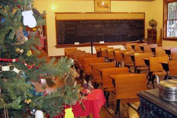 vintage school room