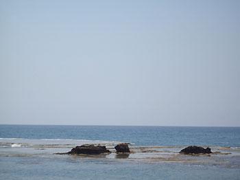 Mediterranean sea off Byblos