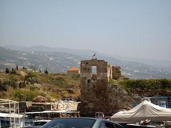 Crusades-era castle in Byblos