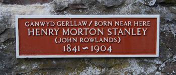 Henry Morton Stanley plaque