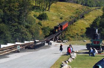 the train crosses a bridge