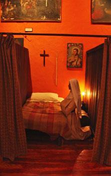 nun at prayer
