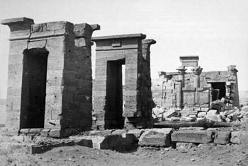 Original temple in Nubia