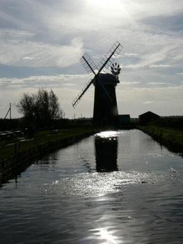 windmill, East Anglia