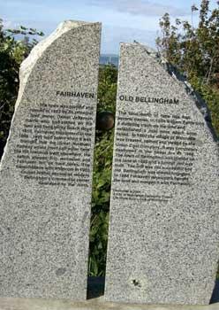 Fairhaven Old Bellingham marker
