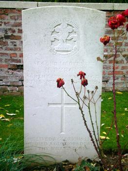 Uncle Harry's grave