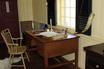 office in Wintering house