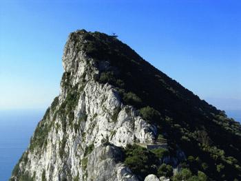 Top of Rock of Gibraltar