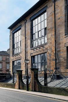 Glasgow School of Art, western facade