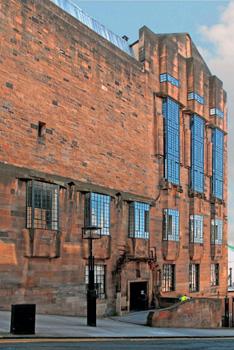 Glasgow School of Art, northern facade