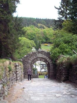 double-arched gateway