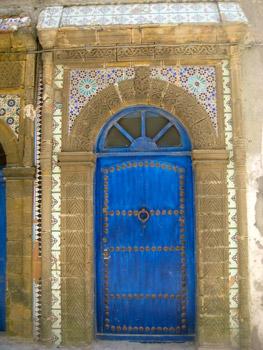 Moorish doorway