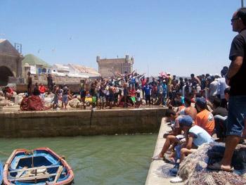 Essaouira quay