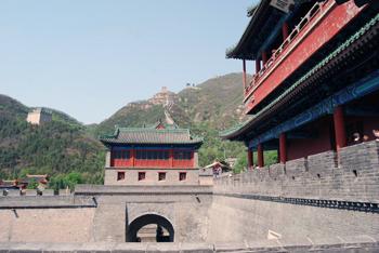 China wall detail view