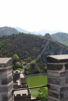 China wall view