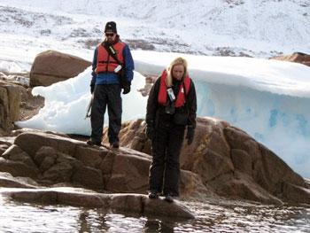 exploring icebergs