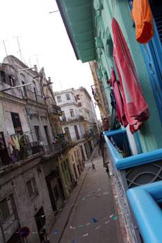 street in old Havana Cuba