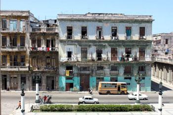 the heart of Old Havana