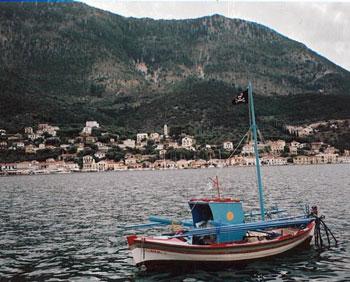 Vathi harbor