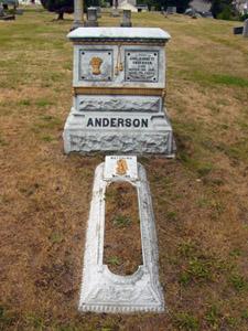 cemetery grave marker