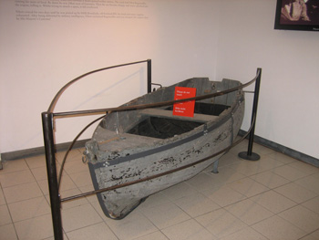 boat in display