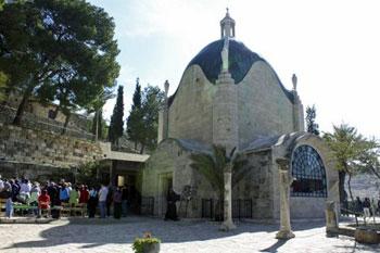 Dominus Flevit church