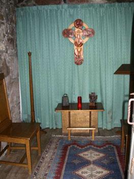Irish monastery room