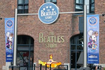 Beatles museum exhibit