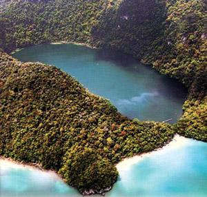 aerial view of Langkawi
