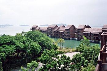 resort on Langkawi island