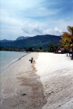 sandy Langkawi beach