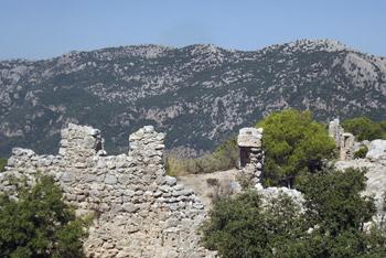 Castello D'Alaro from near agrotourismo