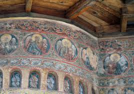 Interior of monastery