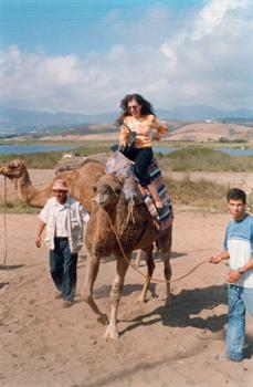camel ride in Tetuan