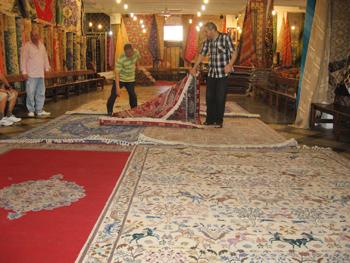 carpet show-room