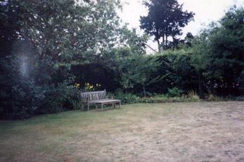 Jane Austen's garden at Chawton cottage