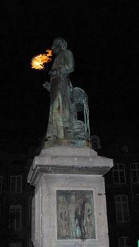 statue of Jan-Pieter Minckeleers