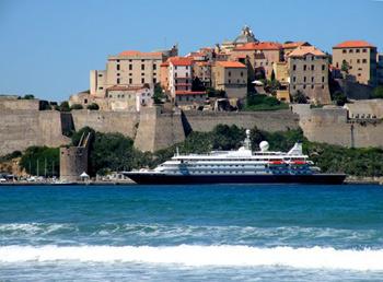 Cruise ship at Monaco