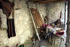 traditional weaving demonstration
