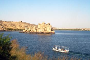 boat on Nile