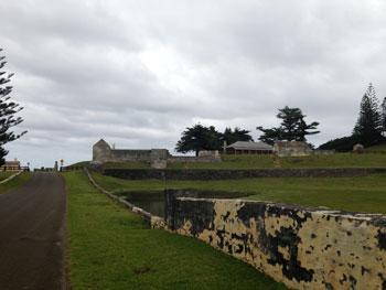 Ruins of second penal settlement