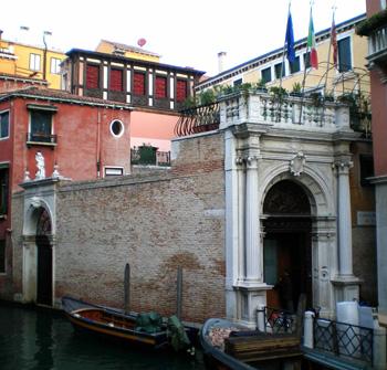 Entrance to Instituto San Giuseppe, Venice
