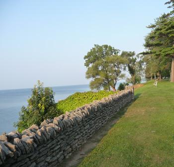 Krull Park overlooks Lake Ontario