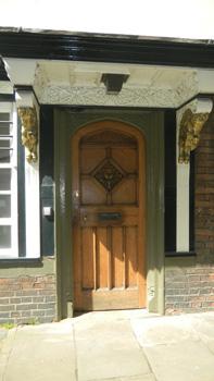 Doorway that inspired C.S. Lewis