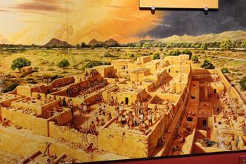 Model of ancient city
