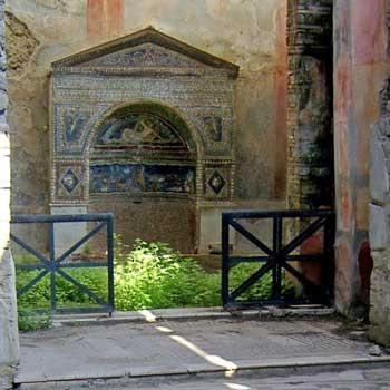 mosaic entrance