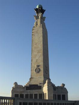 naval memorial at Southsea Common