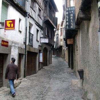 La Alberca town