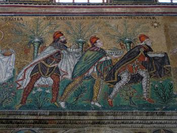 Three Magi mosaic