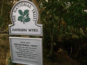 Hayburn Wyke plaque